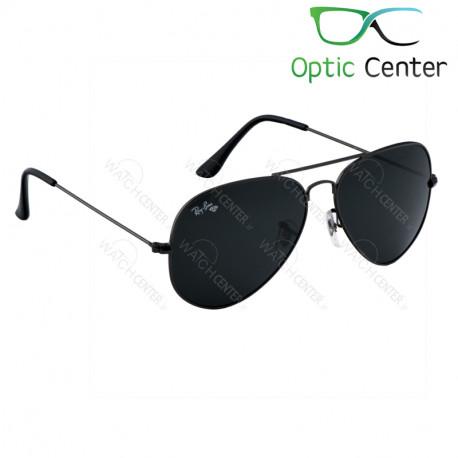 عینک آفتابی اسپرت ری بن فلزی آویاتور شیشه مشکی
