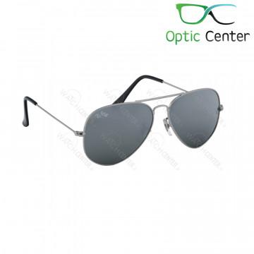 عینک آفتابی اسپرت ری بن فلزی آویاتور شیشه طوسی