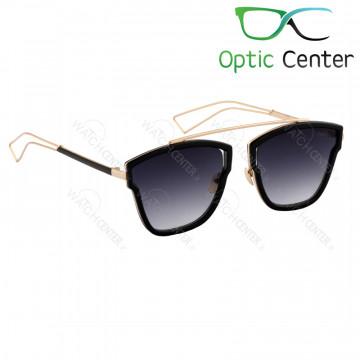 عینک آفتابی اسپرت سرتینو فلزی شیشه مشکی