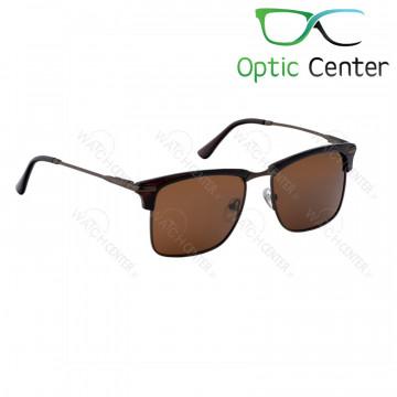 عینک آفتابی اسپرت پلیس فلزی شیشه قهوه ای