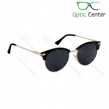 عینک آفتابی اسپرت پلیس فلزی شیشه مشکی
