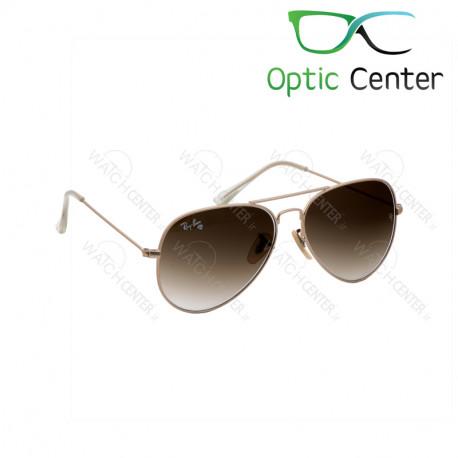 عینک آفتابی اسپرت ری بن فلزی شیشه قهوه ای