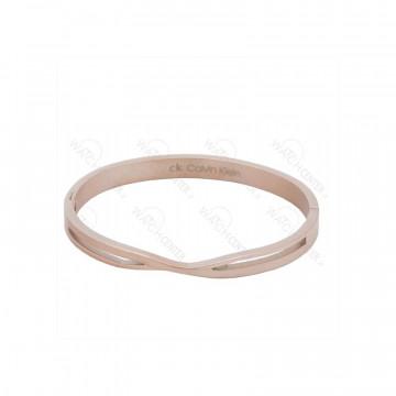 دستبند زنانه کلوین کلین استیل رزگلد