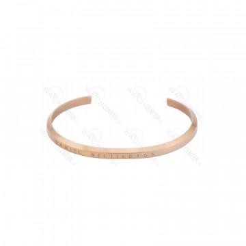 دستبند زنانه استیل دنیل ولینگتون رزگلد