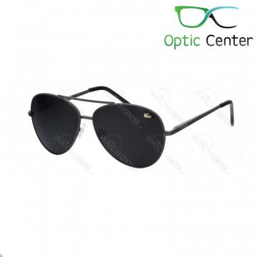 عینک آفتابی اسپرت لاگوست فلزی شیشه مشکی