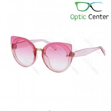 عینک آفتابی زنانه فندی فلزی شیشه صورتی
