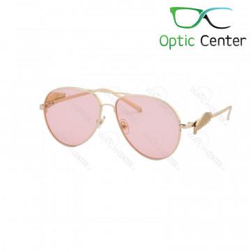 عینک آفتابی زنانه کارتیر فلزی شیشه صورتی