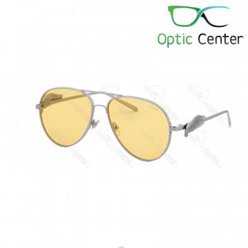 عینک آفتابی زنانه کارتیر فلزی شیشه نارنجی