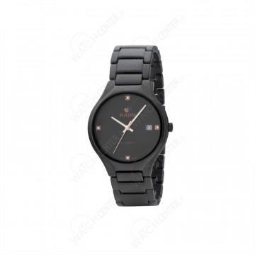 ساعت مردانه رادو سرامیکی مشکی صفحه مشکی