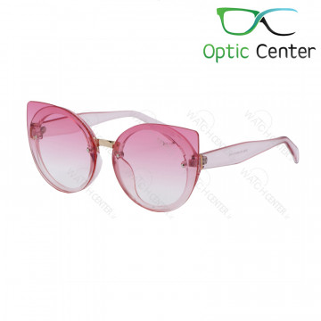 عینک آفتابی زنانه فندی کائوچویی شیشه صورتی