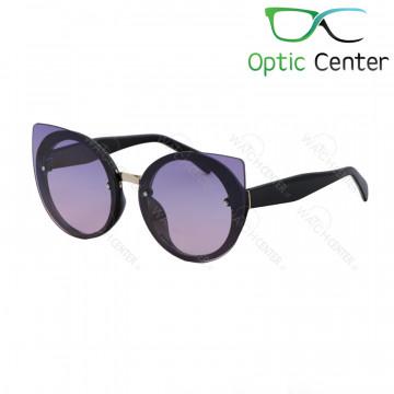 عینک آفتابی زنانه فندی کائوچویی شیشه رنگی