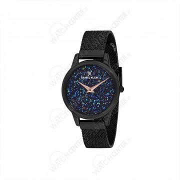 ساعت دنیل کلین زنانه حصیری مشکی صفحه کهکشانی(DK12040-5)
