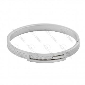دستبند زنانه گوچی استیل نقره ای (76)