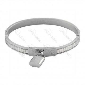 دستبند زنانه مایکل کورس استیل نقره ای (73)