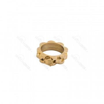 انگشتر زنانه رولکس استیل طلایی