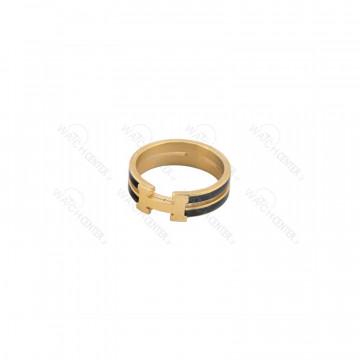 انگشتر زنانه هوبلو استیل طلایی مشکی