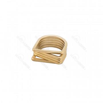 انگشتر زنانه استیل طلایی