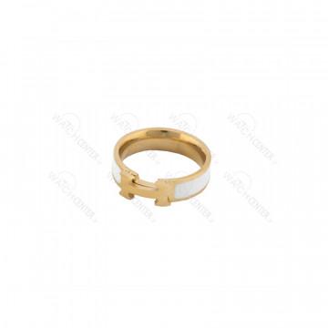 انگشتر زنانه هوبلو استیل طلایی سفید